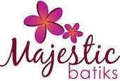 Majestic batiks logo authentic artisan indonesian batik fabrics